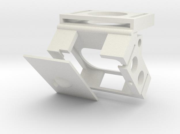 DJI NAZA Mv2 LED mount - Generic Version 3d printed