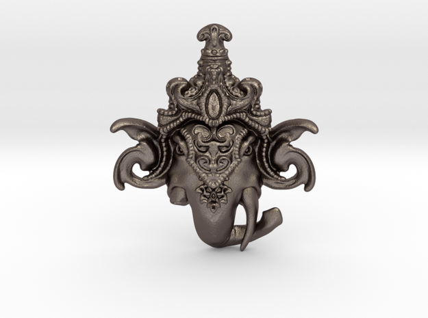 Extremely Detailed Decorative Lord Ganesha Head Pe
