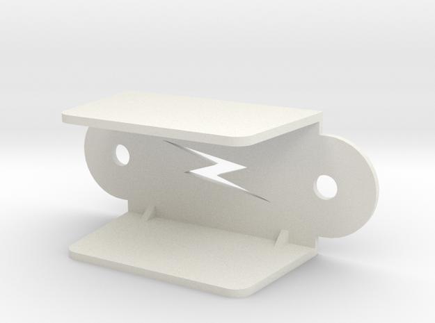 Pinball Lightning Lane Guide (Large) in White Natural Versatile Plastic