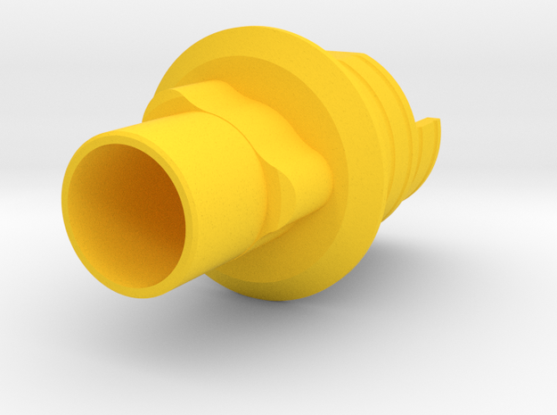 Replace NP - IND3RPLT35 X6-1 in Yellow Processed Versatile Plastic
