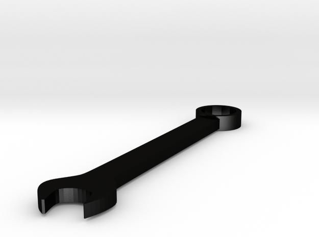 a r c h i t e c t s series - Pendent Wrench in Matte Black Steel