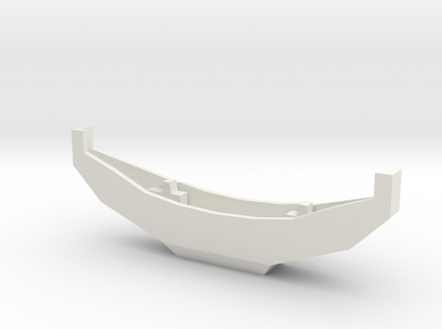OFF ROAD BUMPER 1-25 SCALE in White Natural Versatile Plastic