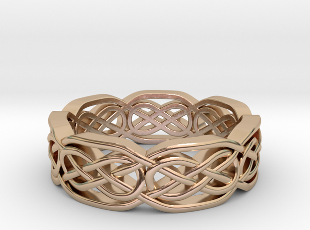 Celtic 2 in 14k Rose Gold
