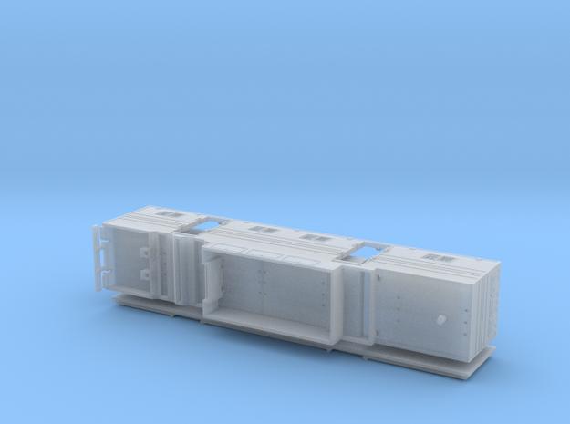 HO 1/87 Horsebox 48' Semi 02 in Smooth Fine Detail Plastic