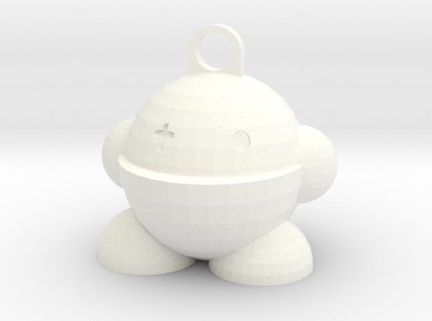 Yobot! in White Processed Versatile Plastic