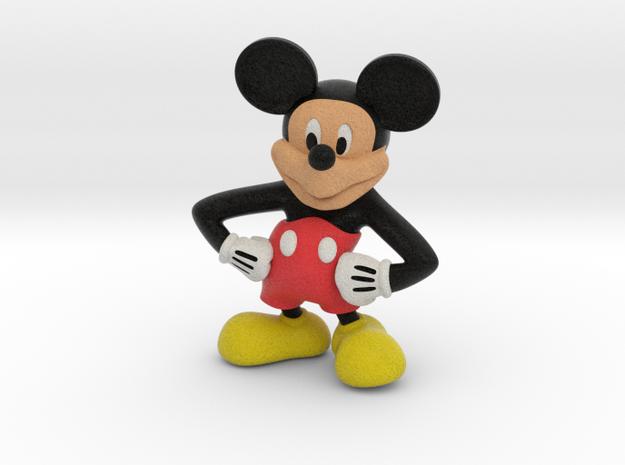 Mickey in Full Color Sandstone