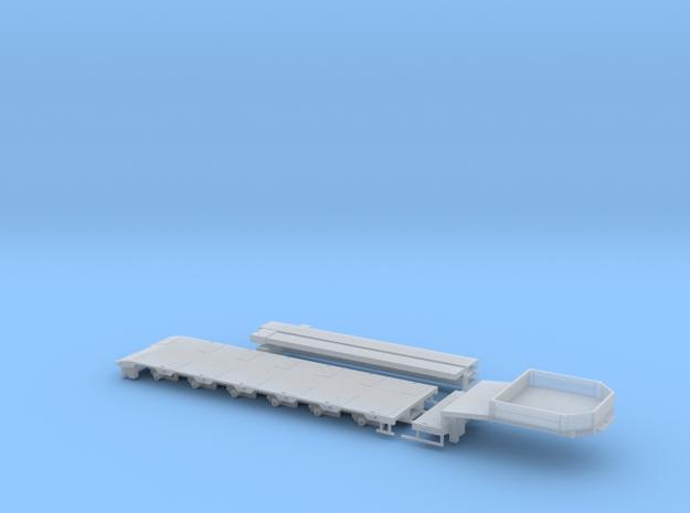 G 002-1 Tieflader ähnlich Goldhofer 6 achs Kurz V1 in Smooth Fine Detail Plastic