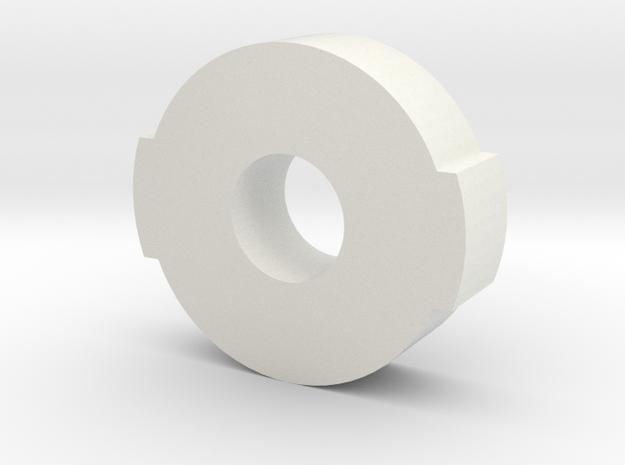 ROTS Belt Box Green LED Holder in White Natural Versatile Plastic