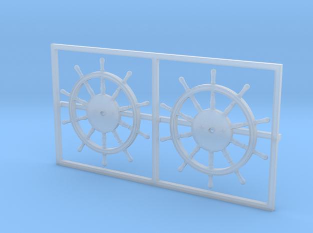 1:84 HMS Victory Ships Wheel 3d printed