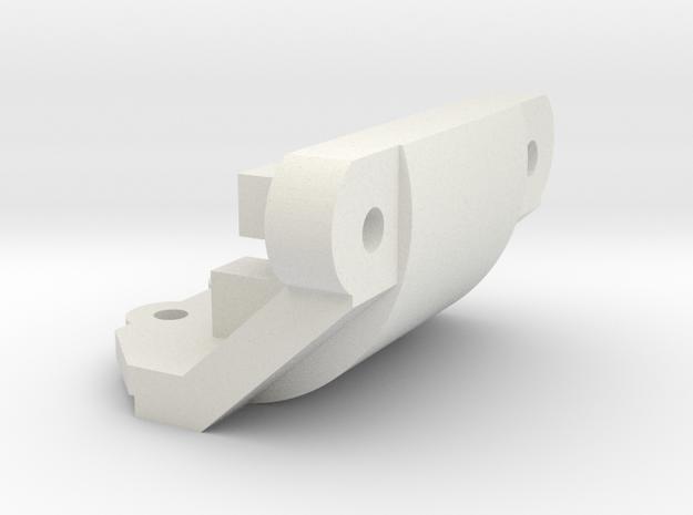 Losi Micro 1/24 Bumper Delete in White Strong & Flexible