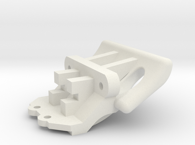 Losi Micro 1/24 Truggy Bumper in White Strong & Flexible