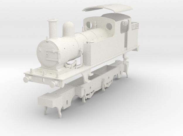 LNER class F5 fitted for Push-Pull working in White Natural Versatile Plastic