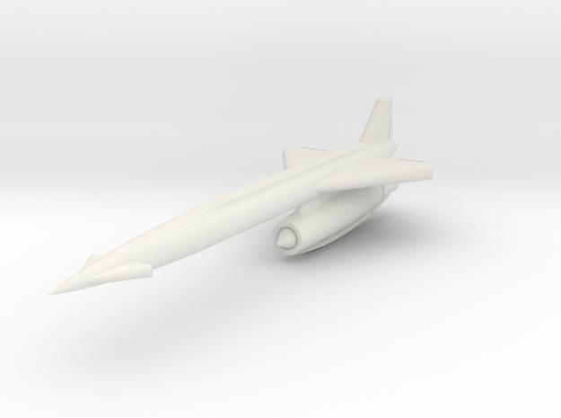 North American AGM-28 (GAM-77) Hound Dog 1/200 in White Natural Versatile Plastic