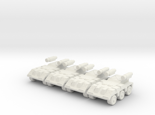 ReconHidetail4pack in White Strong & Flexible