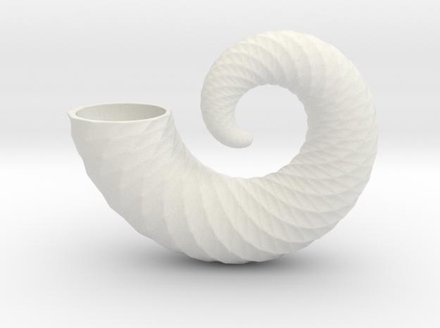 nautilus shell 6 inch in White Natural Versatile Plastic