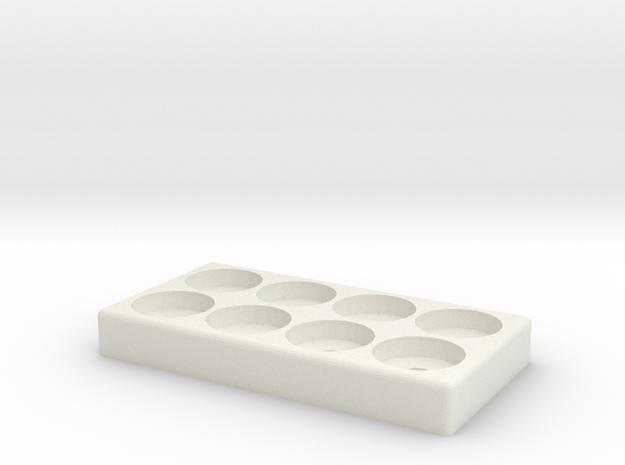 PXS 8 Atty Stand in White Natural Versatile Plastic