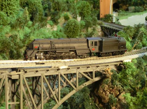 1:120 NZR J CLASS  (Fully Streamlined) in Smooth Fine Detail Plastic