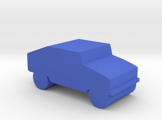 Game Piece, Blue Force Humvee in Blue Processed Versatile Plastic
