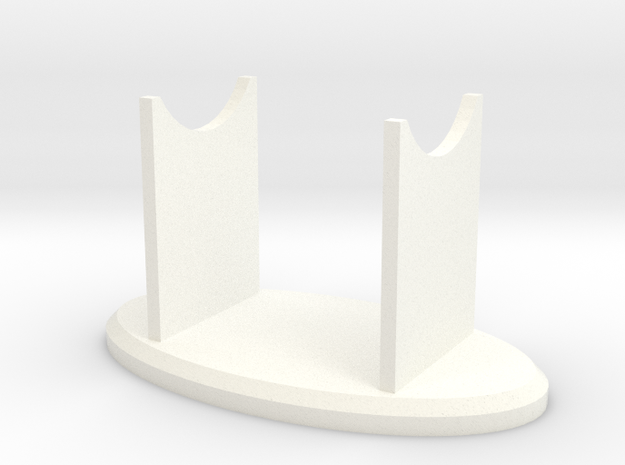 F-bomb 004 Stand in White Processed Versatile Plastic