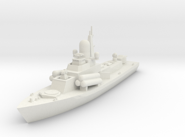 1/600 Nanuchka 1 Missile Corvette in White Strong & Flexible