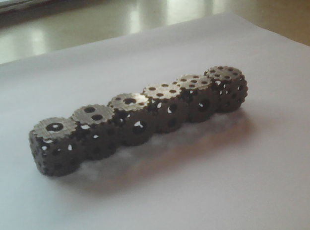 Gear Dice, 6-sided die made of gears