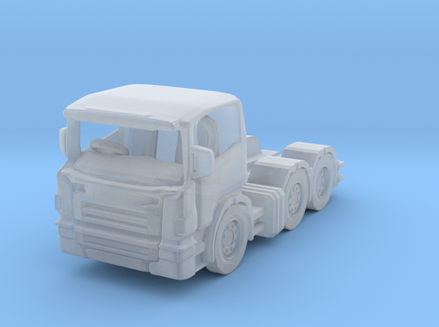 1:120 scania tractor unit in Smooth Fine Detail Plastic