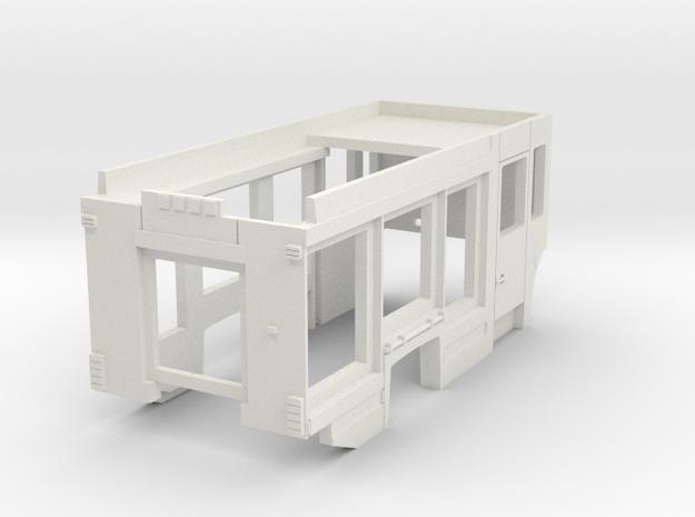 LF 16 KatS 2014 nur Aufbau in White Natural Versatile Plastic