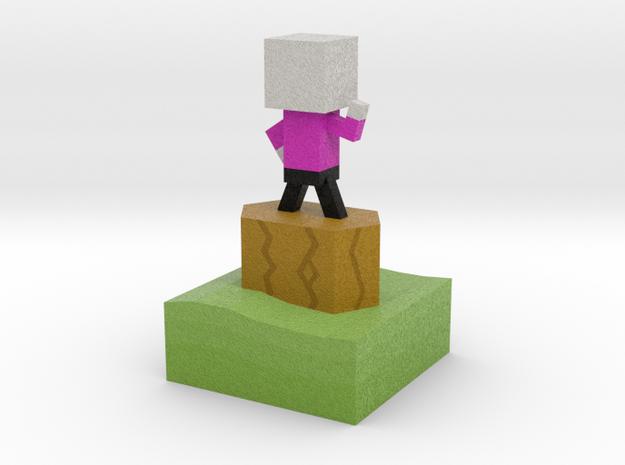 Mr Jump - Level 2 in Full Color Sandstone