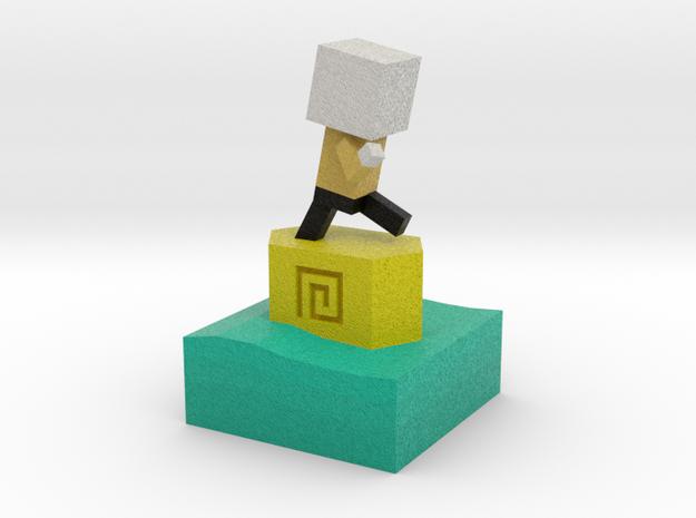 Mr Jump - Level 5 in Full Color Sandstone