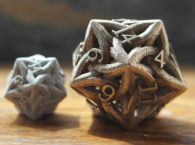Large Celtic D20