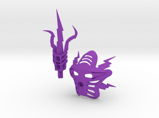 Voriki parts pack in Purple Processed Versatile Plastic