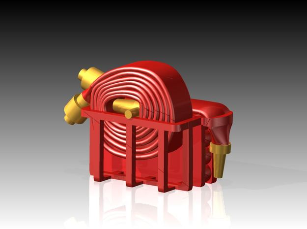 Fire Hose - Flaked & Rolled x 6 1/144