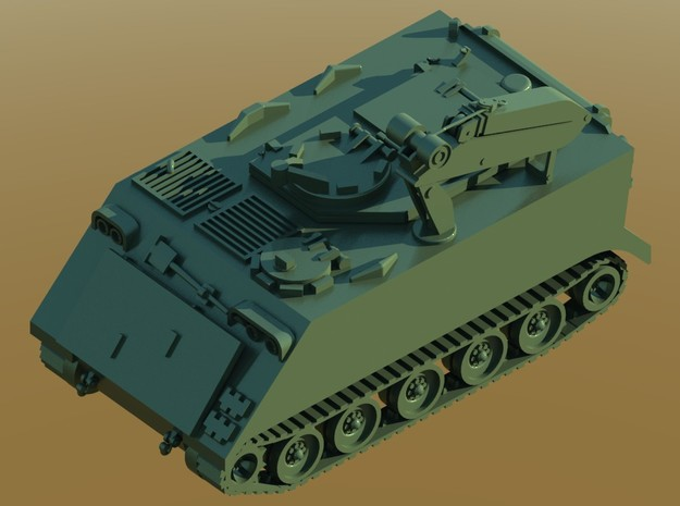 M-113-FITTER-M579-Z-proto-01 in Smooth Fine Detail Plastic