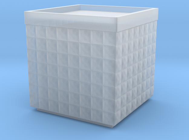 Hesco 4x4x4 -15mm in Smooth Fine Detail Plastic