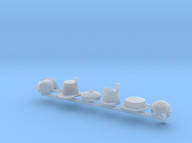6 x Royal Marine Hats 3d printed