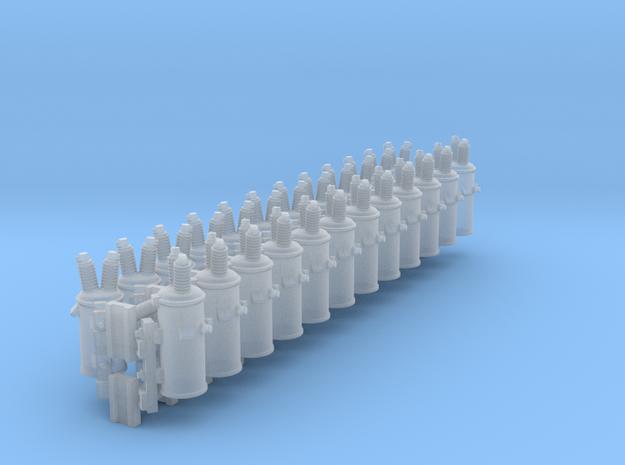 Pole Transformer 01. HO Scale (1:87)
