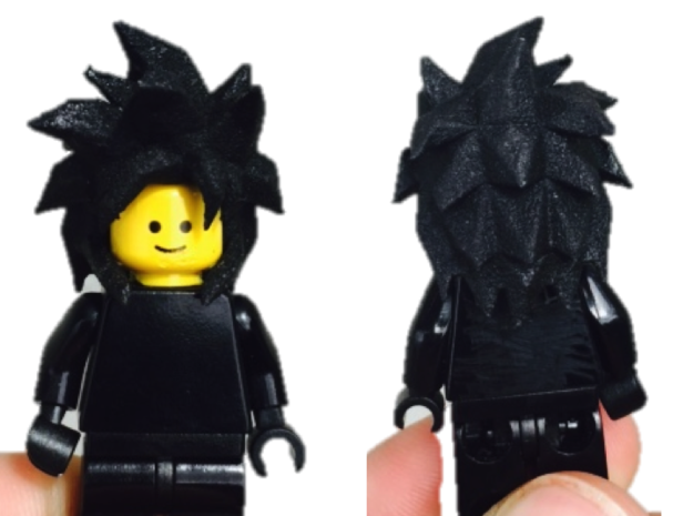 Custom Goku SSjj4 Inspired Lego