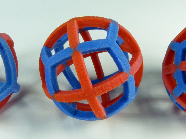 Dual Polyhedra in Full Color Sandstone