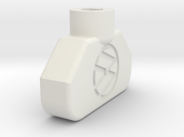 VW MK2 Knob V3 in White Natural Versatile Plastic