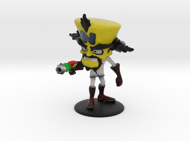 Neo Cortex - Crash Twinsanity - 83mm in Full Color Sandstone