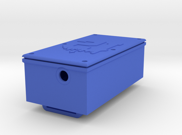 Parani Leg Box tall in Blue Processed Versatile Plastic