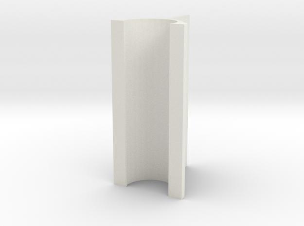 OD Sander V2, .4mm, 30mm Length in White Natural Versatile Plastic