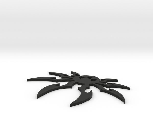 Spider Keychain in Black Strong & Flexible