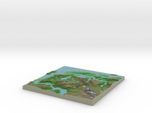 Terrafab generated model Wed Jan 20 2016 10:25:40  in Full Color Sandstone