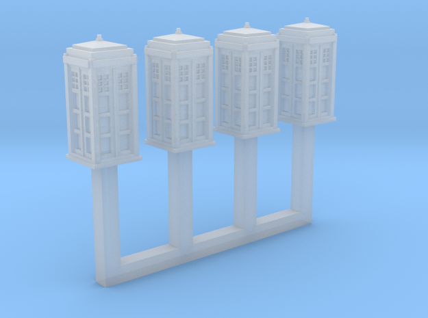 1/450 Police Call Box x4 (Tardis)