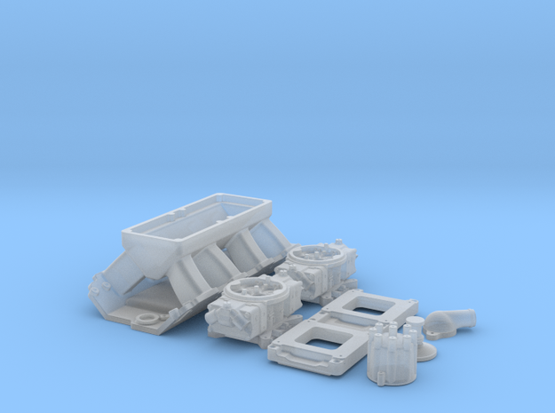 1/16 BBC Tunnel Ram for Symetric Port Heads 3d printed