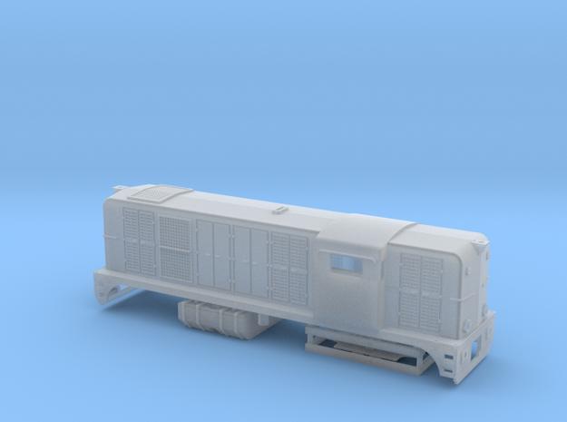 N 2400 DE NS LifeLike NEM met zwaailicht 3d printed