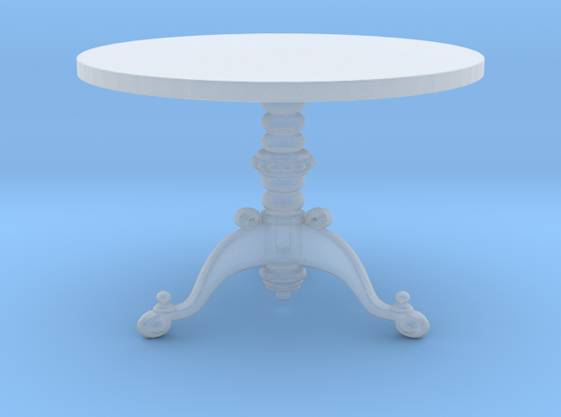 Miniature 1:48 Ornate 3 Leg Table