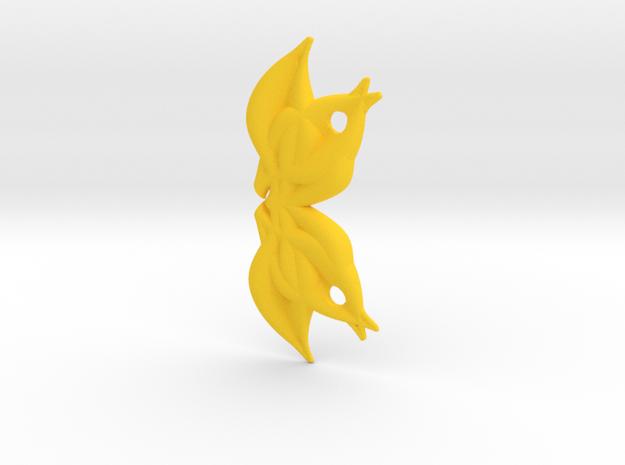 Lotushead1 in Yellow Strong & Flexible Polished