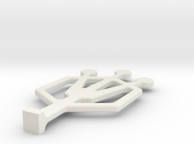 HO01 in White Strong & Flexible